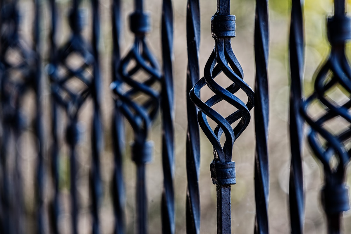 How to Care for A Wrought Iron Fence