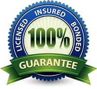 Licensed. Insured. Bonded. 100% Guarantee.